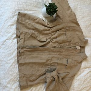 Tan canvas jacket from H&M